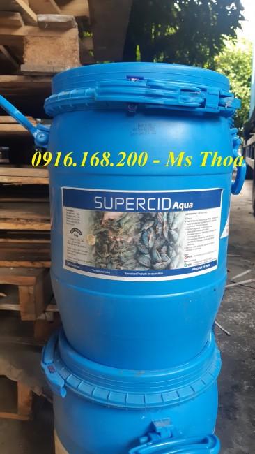 SUPERCID - Acid hữu cơ giúp cải thiện tiêu hóa và tái tạo nhung mao ruột cho tôm cá