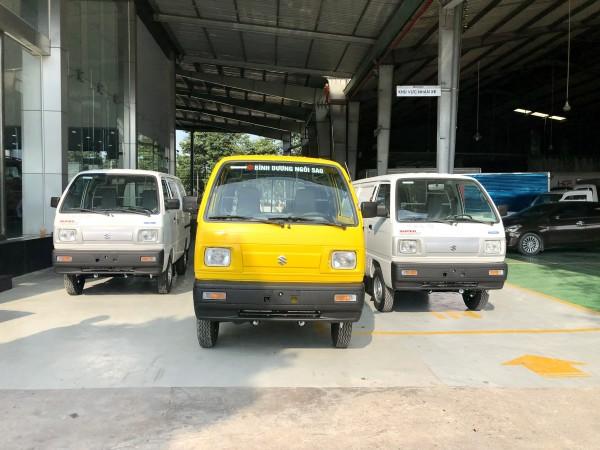 Suzuki Blind Van Chẳng Ngại Giờ Cao Điểm- Tải trọng 580kg Giá tốt ưu đãi mùa dịch