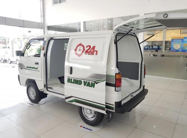 Suzuki Blind Van - Giải Pháp Cấm Giờ Thành Phố - Gọn Nhẹ Hiệu Quả Vượt Trội 24h
