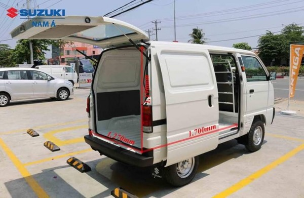 Suzuki BlindVan - Tải Trọng 580kg