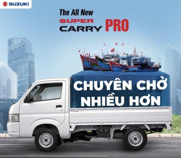 Suzuki  Carry Pro Nhập khẩu Chuyên Chở nhiều hơn- Là cộng sự đắc lực cho những chuyến hàng của bạn