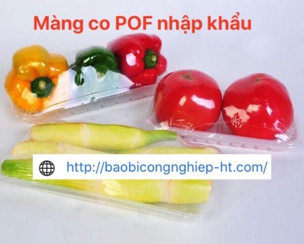 Tại sao phải dùng  màng co POF để bọc thực phẩm | Màng co POF nhập khẩu giá rẻ - 0972 998 132