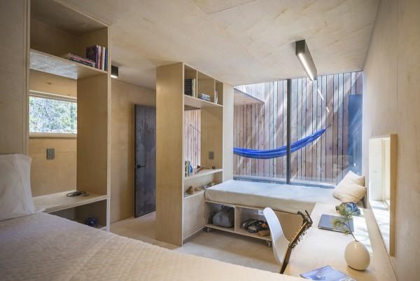 Tận dụng khoảng trống trong căn hộ làm không gian lưu trữ