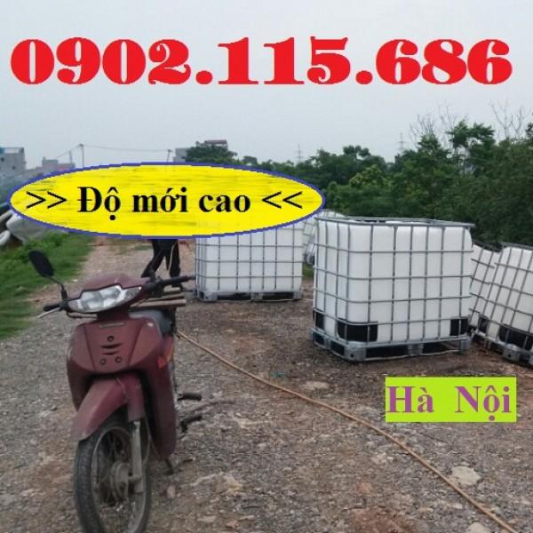 Tank ibc, tank nhựa 1000l cũ, bồn nhựa 1000 lít cũ, thùng ibc, giá tank nhựa 1000l cũ,