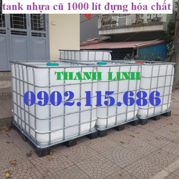 Tank nhựa 1000 lít cũ