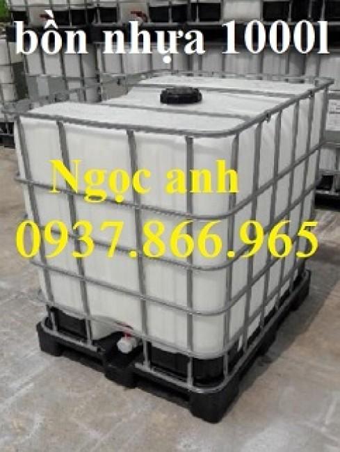 Tank nhựa màu trắng đựng nước, tank nhựa dung dung dịch lỏng, tank nhựa