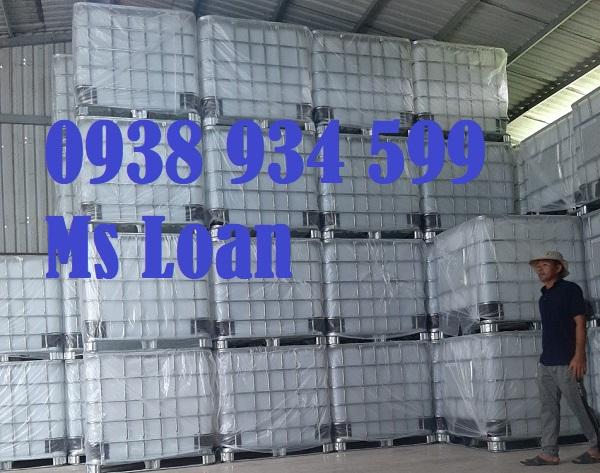 Tank nhựa vuông ibc 1000 lít giá rẻ