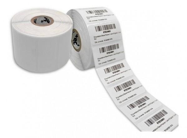 Tem nhãn PVC in mã vạch, decal nhựa PVC