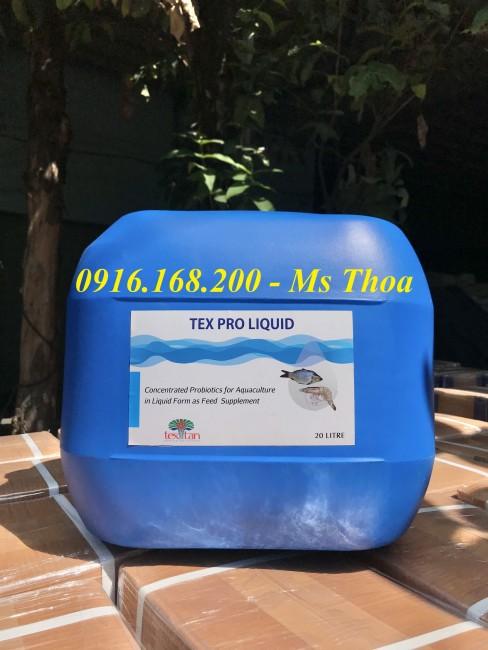 TEX PRO LIQUID - Men tiêu hóa dạng nước cho tôm cá