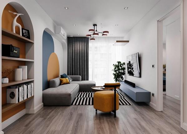 Tham khảo cách phối màu độc đáo, sáng tạo cho căn hộ