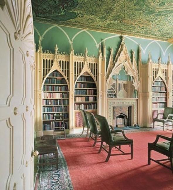 Tham khảo một số mẫu thư viện đẹp theo phong cách nước ngoài