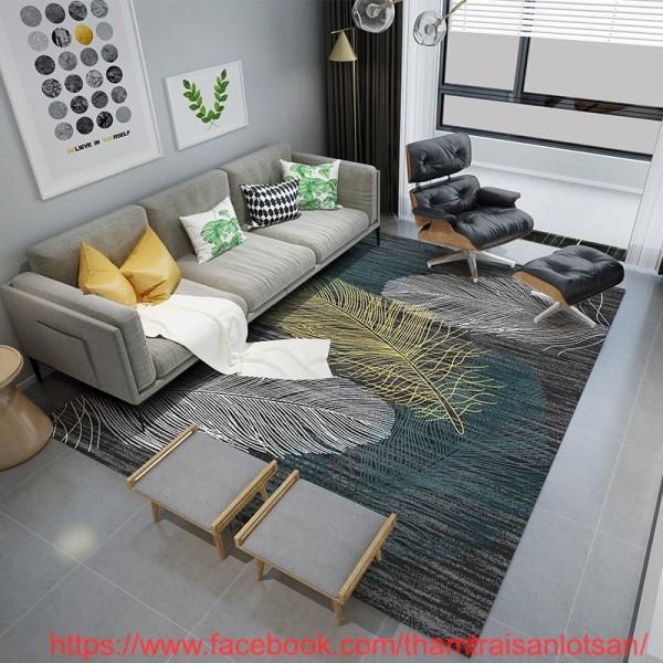 Thảm trải sàn cho phòng khách đẹp