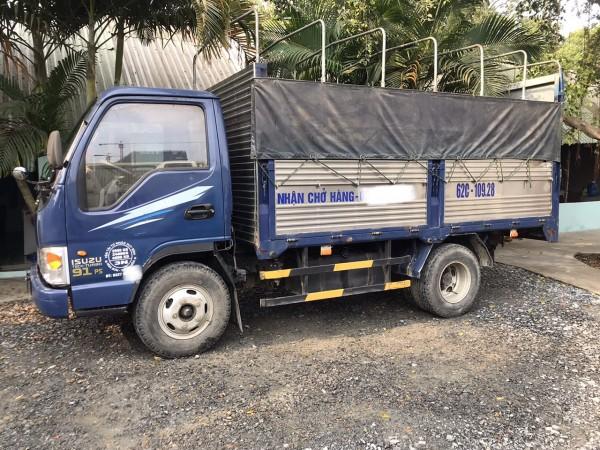 Thanh lý gấp xe JAC 2017 2,4 tấn thùng bạt do dịch Covid