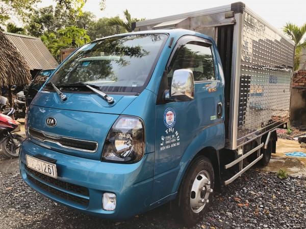 Thanh lý gấp xe KIA K250 thùng chuyên dụng trở gia cầm do dịch Covid