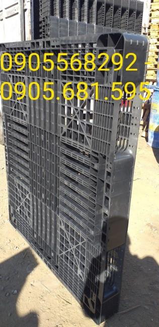 Thanh lý pallet nhựa đen giá rẻ 0905681595