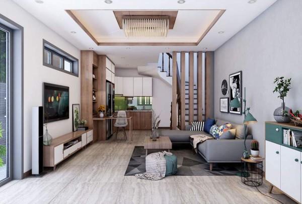 Thay đổi linh hoạt cho không gian phòng khách