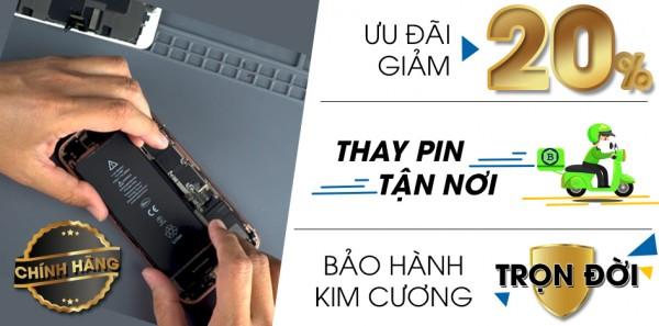 Thay Pin iPhone ở Bách Khoa Store | Bảo hành trọn đời
