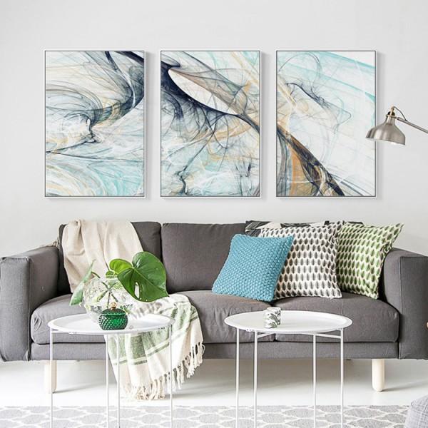 Thể hiện phong cách và cá tính gia chủ qua những bức tranh đầy nghệ thuật