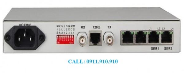Thiết bị viễn thông, cntt: modem quang e1, switch quang ....