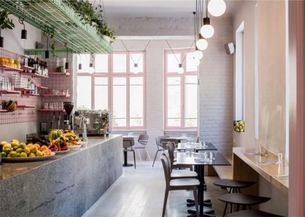 Thiết kế cửa hàng ăn vặt nhỏ xinh