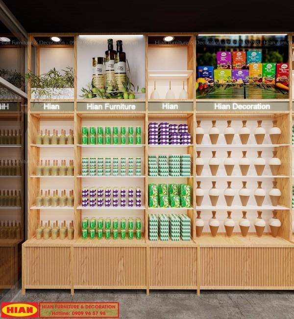 Thiết kế cửa hàng trưng bày sản phẩm khởi nghiệp