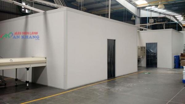 Thiết kế kho lạnh bảo quản khô mực tại ANKACO