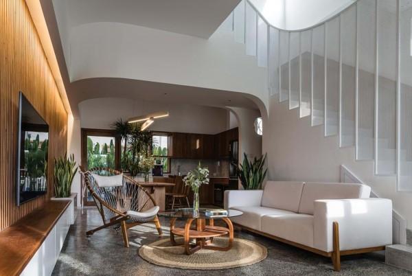 Thiết kế ngôi nhà mơ ước vừa hiện đại vừa phóng khoáng