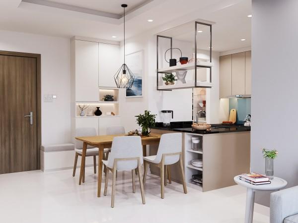 Thiết kế nội thất chung cư 2 phòng ngủ như thế nào cho hợp lý?