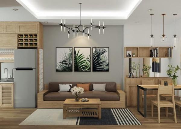 Thiết kế nội thất chung cư đẹp nhất hiện nay