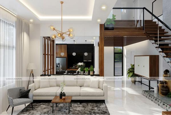 Thiết kế nội thất phòng khách đẹp, sang trọng cho gia chủ