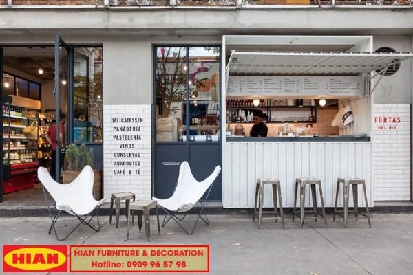 Thiết kế quán trà sữa mang đi đẹp hiện đại