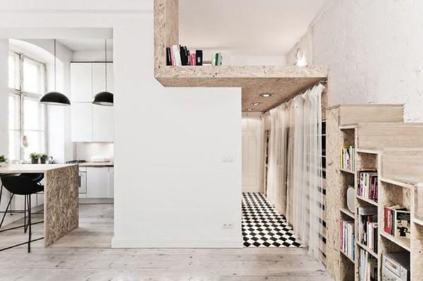 Thiết kế thông minh cho nhà nhỏ nhiều góc cạnh