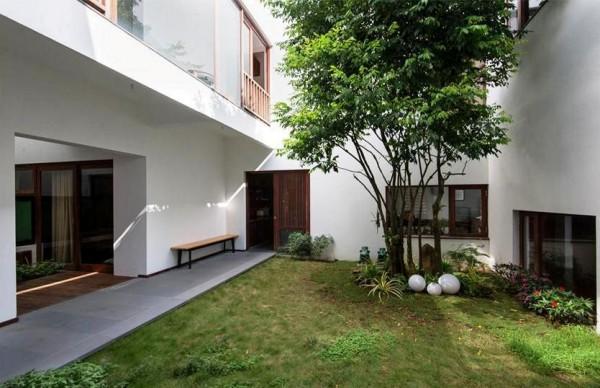 Thiết kế và bố trí hợp lý mảng xanh cho nhà nhỏ
