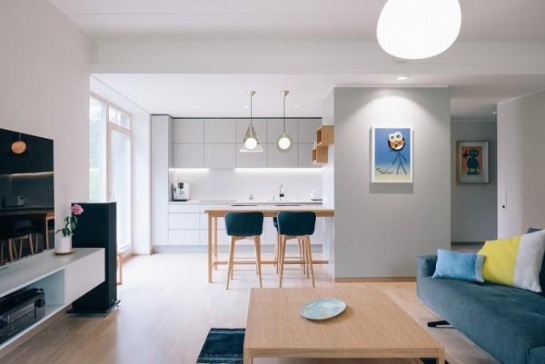 Thiết kế và trang bị nội thất hiện đại cho căn hộ nhỏ