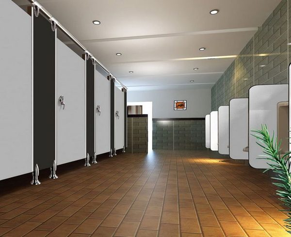 Thiết kế vách ngăn vệ sinh cho trường học - 0908.852.130