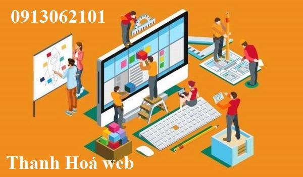 Thiết kế web chuyên nghiệp tại Thanh Hoá