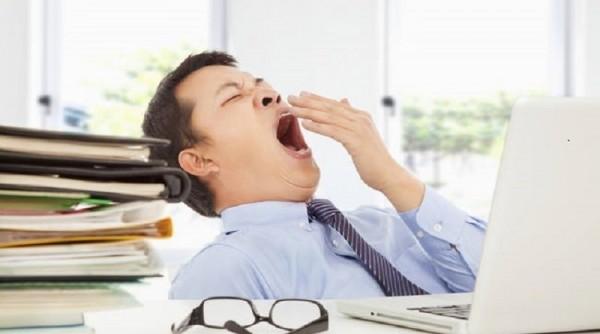 Thiếu ngủ khiến cơ thể mệt mỏi và mất tập trung