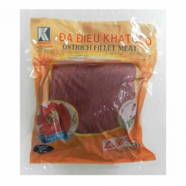 Thịt đà điểu bán ở tp.hcm