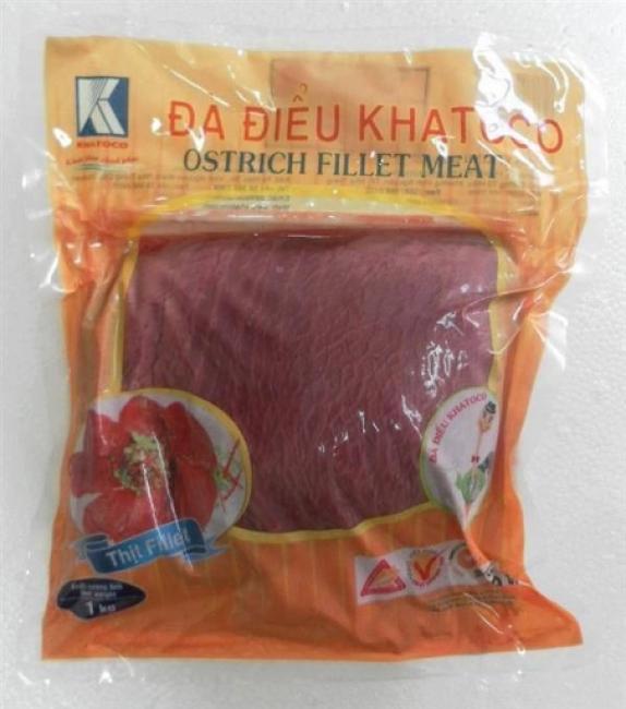 Thịt đà điểu Khatoco bán ở tp.hcm