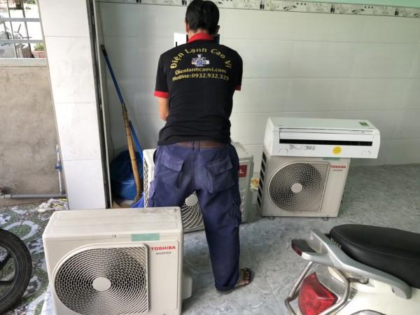 Thu mua máy lạnh hư tại huyện Củ Chi tận nơi