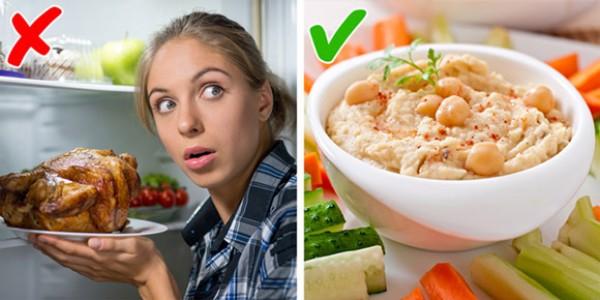 Thực phẩm ăn nhanh no, ngon miệng nhưng không lo tăng cân