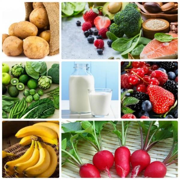 Thực phẩm giúp điều hòa huyết áp hiệu quả