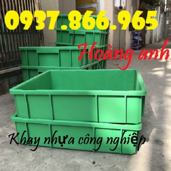 Thùng nhựa B9 chất lượng tốt, thùng nhựa công nghiệp giá rẻ, thùng nhựa đặc