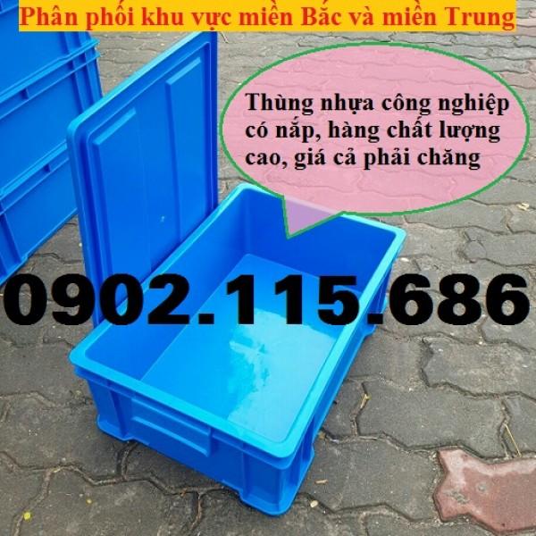 Thùng nhựa có nắp, thùng nhựa có bánh xe, thùng nhựa có quai sắt, thùng nhựa đựng hàng công nghiệp,