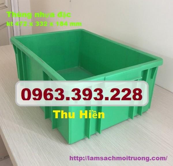 Thùng nhựa công nghiệp, thùng nhựa giá rẻ