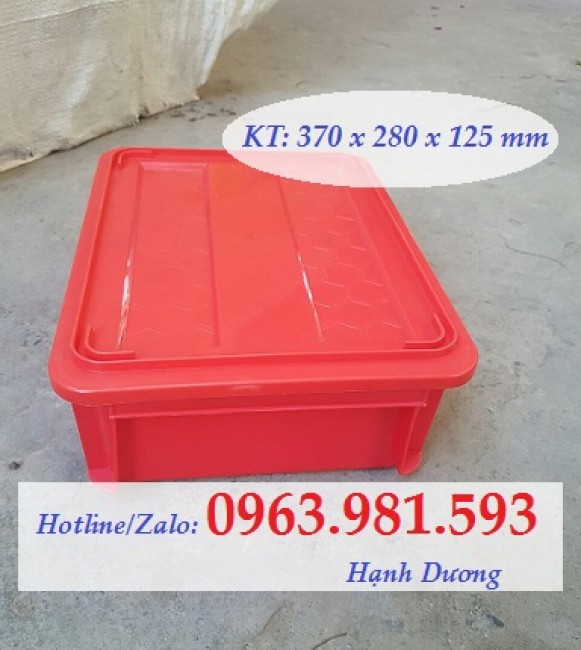 Thùng nhựa đặc B7, hộp nhựa B7