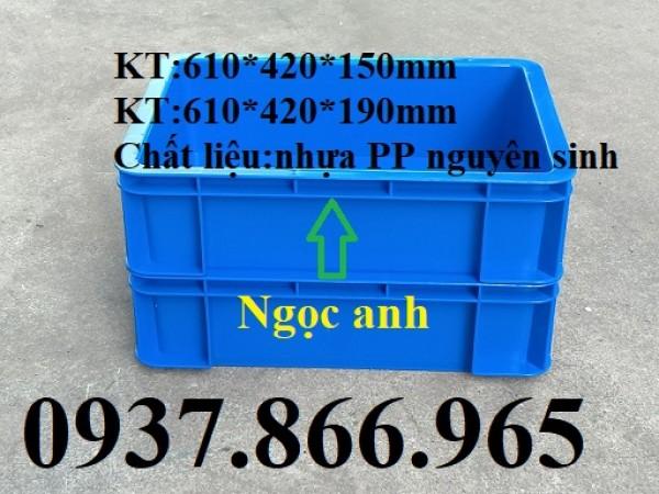 Thùng nhựa đặc, khay nhựa, khay nhựa công nghiệp, thùng nhựa b12
