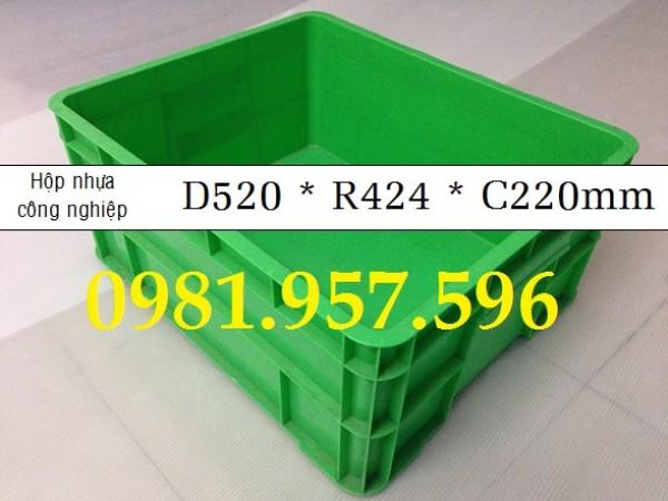 Thùng nhựa đựng thực phẩm, thùng nhựa công nghiệp, hộp nhựa