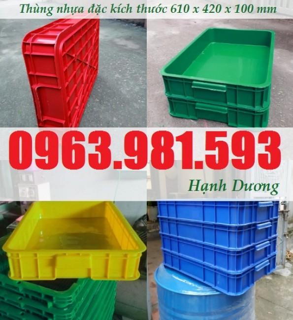 Thùng nhựa HS025, hộp nhựa có nắp