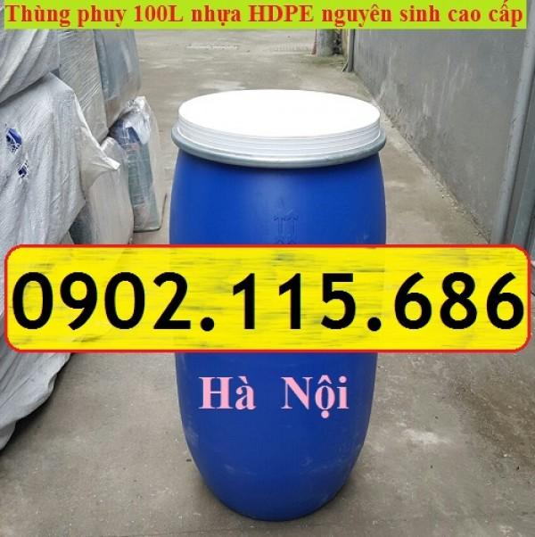 Thùng phi nhựa 50 lit, thùng phi nhựa 100 lit, thùng phi nhựa 150 lit, thùng phi nhựa 200 lit,